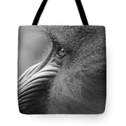 Mandrill Posing For The Portrait Tote Bag