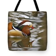 Mandrin Duck With A Purpose Tote Bag