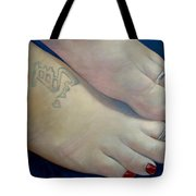 Mandys Toes Tote Bag