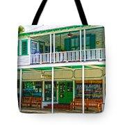 Mangia Mangia Pasta Market And Cafe On Key West Florida Tote Bag