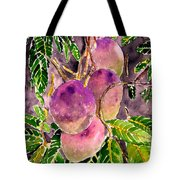 Mango Tree Fruit Tote Bag
