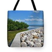 Mangroves Rocks And Ocean Tote Bag
