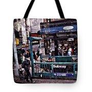 Manhattan 14th Street Tote Bag