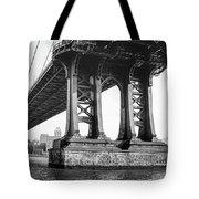 Manhattan Bridge, Afternoon Tote Bag by Gary Heller