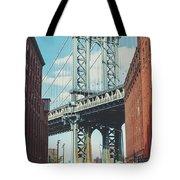 Manhattan Bridge Tote Bag
