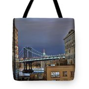 Manhattan Empire State Tote Bag