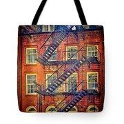 Manhattan Facade Tote Bag