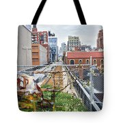 Manhattan High Line Tote Bag