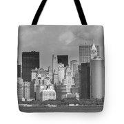 Manhattan New York Tote Bag