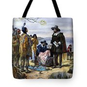 Manhattan Purchase, 1626 Tote Bag