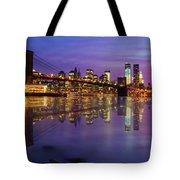Manhattan Reflection Tote Bag