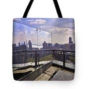 Manhattan Reflections Tote Bag