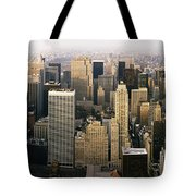 Manhattan Skyline - New York City Tote Bag