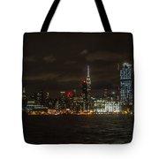 Manhattan Skyline 5 Tote Bag