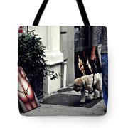Manhattan Street Art Tote Bag