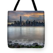 Manhattan Sunrise Tote Bag