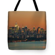 Manhattan Twilight I Tote Bag