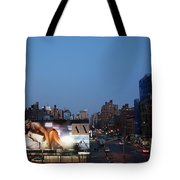 Manhattan View From The High Line Tote Bag
