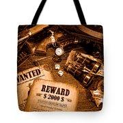 Manhunter - Sepia Tote Bag
