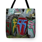 Mani Stones Tote Bag
