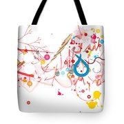 Mania Abstract Tote Bag