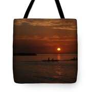 Manila Bay At Dusk. Tote Bag