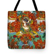 Maning Mahakala With Retinue Tote Bag