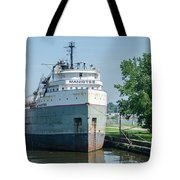 Manistee In Layup At Toledo Tote Bag
