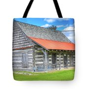 Manistique Schoolcraft County Museum Log Cabin -2158 Tote Bag