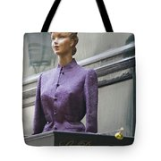 Mannequin In The Passage Tote Bag