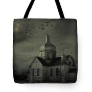 Mannerisms Of Midnight  Tote Bag by Empty Wall