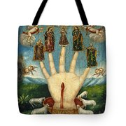 Mano Poderosa. The All-powerful Hand Tote Bag