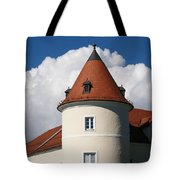 Manor House Tower Tote Bag