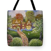 Manor Of Yore Tote Bag
