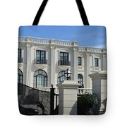Mansion At The Beach Tote Bag