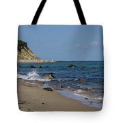 Mansion Beach, Block Island Tote Bag
