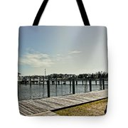 Manteo Waterfront Tote Bag