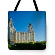 Manti Temple North Hill Tote Bag