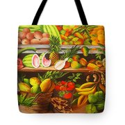 Manuel And His Fruit Stand Tote Bag