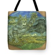Manx Cat Tote Bag