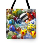 Many Beautiful Marbles Tote Bag