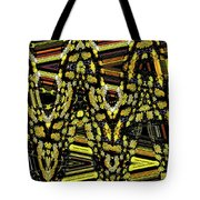 Many Flowers Abstract Tote Bag