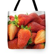 Many Strawberry Tote Bag