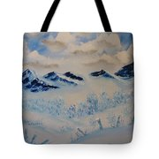 Many Valleys Tote Bag
