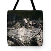 Many Webs Tote Bag