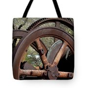Many Wheels Tote Bag
