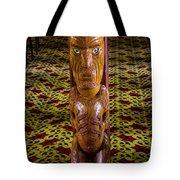 Maori Greeter Tote Bag