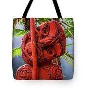 Maori Guardian Tote Bag