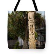 Maori Poupou Tote Bag