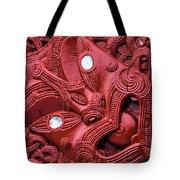 Maori Tilted Head Tote Bag
